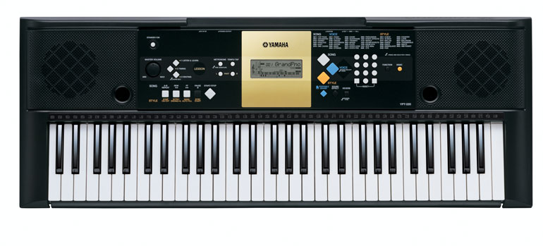 Yamaha ypt220ms keyboard full size 61note stereo speakers
