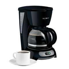 Mr.coffee tf5 black coffee maker 4cup