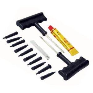 Premium-Grade Quick-Fix Tire Repair Kit - Plug Tires in Just Minutes