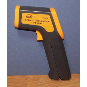 IR Infrared Thermometer Gun w. Laser Guide ST-380 Non Contact Temperature Measurement Gun w. Laser Guide