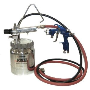 DeVILBISS CVI HVLP Paint SPRAY GUN-2 Quart Pressure Pot