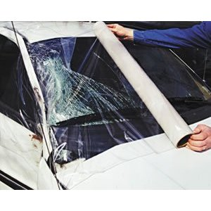 RBL Products Continuous Roll of Windshield Collision Wrap Film / RBL-428