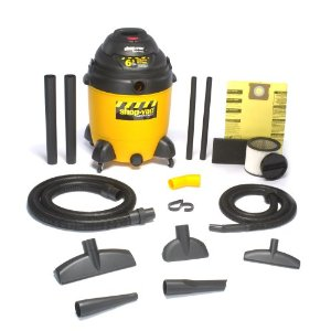 Shop-Vac 9609810 22-Gallon 6.5-Peak HP Industrial Pump Wet/Dry Vacuum