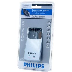 PHILIPS World Combo Power Adapter & Surge Protector