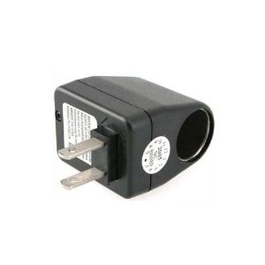 Universal AC-DC Power Socket Adapter Converter (Voltage Transformer) - Use Car Chargers in 110V AC Wall Outlets Blackberry Storm 9530