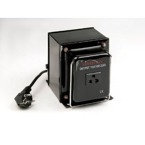 VOD 750 - Heavy Duty 750 Watts Step Down Voltage Transformer For AC 220V-110V Conversion. Use in 220V/240V Countries