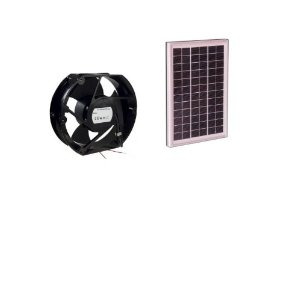 CDT-F20 Solar Power Fan - 20 Watt 6 inch fan #34020