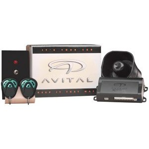 Avital 821001/2100 2100 Security System