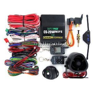 Crimestopper CS-2014.DP.II.TW2.CF Two-Way FM/FM Paging Alarm and Remote Start System