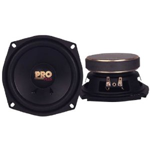 Pyramid W54 5.25-Inch 150 Watt MidBass Poly Woofer
