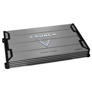 Crunch Ground Pounder GPV2000.1 Maxx Watt Power A/B Class Mono Amplifier (Silver)
