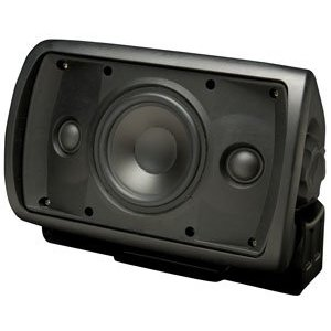 Niles OS5.3SI Black (Ea) 5 Inch Stereo Input 2-Way Indoor Outdoor Speaker (FG00999)