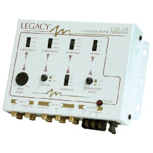 LEGACY LXR2A 3-Way Stereo Electronic Crossover Network w/Bass Boost