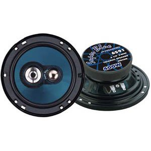 Pyramid 6591 6.5-Inch 400 Watts ThreeWay Speakers