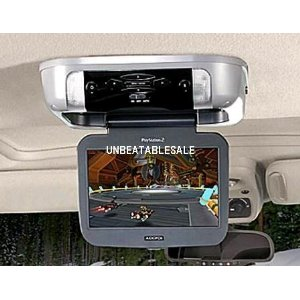 Audiovox Car VOD10PS2 10-Inch 16:9 Flipdown Monitor with Built-in PS2