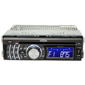 Brand New Jensen Sd1413 Car Cd/mp3 Receiver with Built in Am/fm Radio + Built in High Powered Amplifier, Built in Equalizer, Front Aux Input, and Usb + Sd Card Slots
