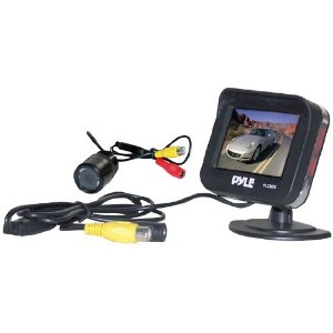 PYLE PLCM25 2.5-Inch TFT LCD Monitor/Night Vision Rear View Camera