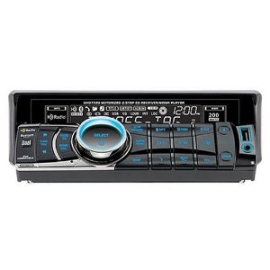 Dual XHD7720 4X50 Watt AM/FM/CD Radio with Motorized Built-in HD and Bluetooth - Ready