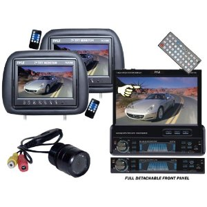 Pyle Great DVD/LCD/Camera Package for Car/Truck/SUV