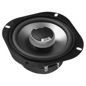 Polk Audio DB501 5-Inch Coaxial Speakers (Pair, Black)