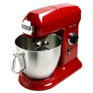 Viking VSM700BR Bright Red Stand Mixer 7-qt.