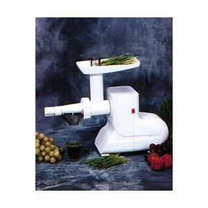 Miracle MJ550 Electric Wheatgrass Juicer - White