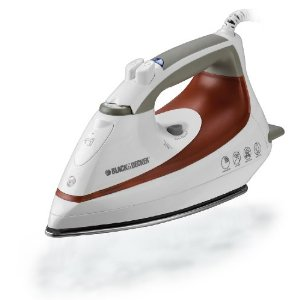 Black & Decker F1055 Steam Advantage Iron with Stainless-Steel Soleplate