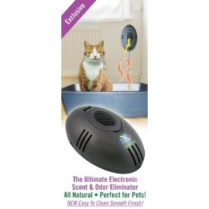 Electronic CatMouse Litter Box Odor Eliminator