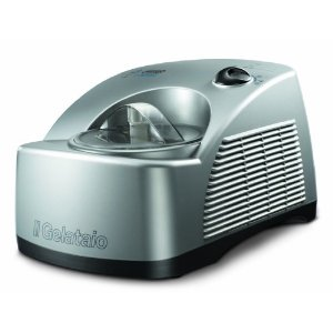 DeLonghi GM6000 Gelato Maker with Self-Refrigerating Compressor
