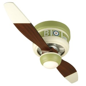 Craftmade WB242SC 42-Inch Warplane Sop with Camel Ceiling Fan with Blades and Integrated Light Kit