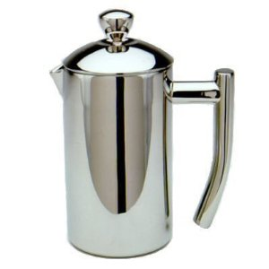 Frieling French Press Ultimo 8oz ~ Insulated Stainless Steel Coffee Press ~ 2 Cup