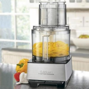 Cuisinart Custom Pro 11-Cup Stainless Steel Food Processor EV-11PC8 with Bonus