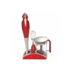 Kalorik Combination Stick Mixer - Metallic Red