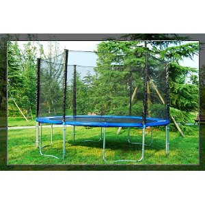 Aosom 14' Trampoline with Safty Net Enclosure Combo