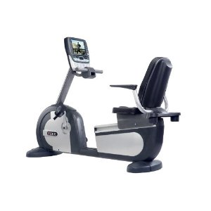 Motus USA M660BRL Recumbent Exercise Bike with Fully Integrated Samsung LCD TV