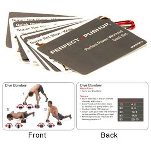 Perfect Pushup Power 10 Workout Cards