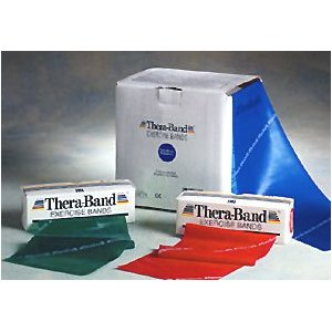 Thera-Band Exercise Bands - Latex Bands - 50 yards