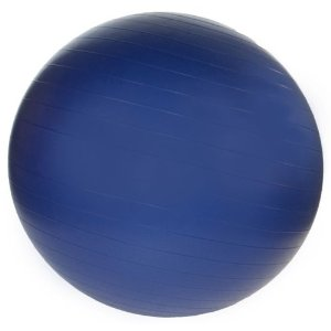J Fit 85cm Professional Grade Exercise Ball (Navy Blue)