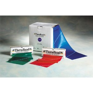 Thera-Band Resistance Bands Clamshell, Heavy