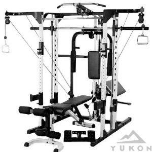 Caribou III Multi Gym (Complete) w/ Cable Cross