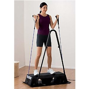 Health Mark VF81001 Osci Stadium Whole Body Vibration Therapy Machine With Optional Removable Handle Bar