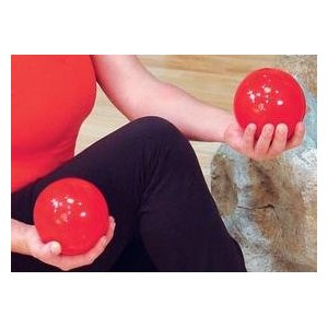 Weighted Exercise Balls - 1-5 Pounds- SOLD IN PAIRS