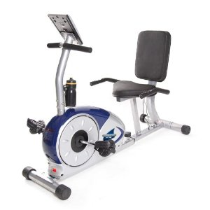 Body Champ BRB5200 Programmable Magnetic Recumbent Exercise Bike