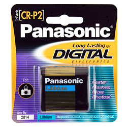 Panasonic crp2 lithium battery for camera