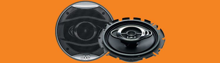 Jvc cshx637x car speaker 6 1/2inch 3way coaxial