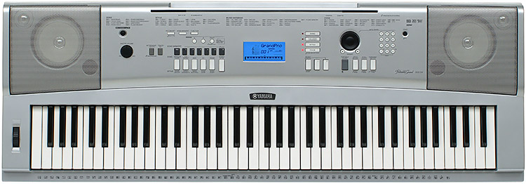 Yamaha dgx230ms keyboard full size 76note touch sensitive