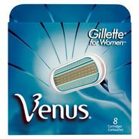 Gillette Venus Shaving Cartridges for Women (8 Cartridges)