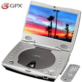 GPX PDL804 Multizone / Zonefree / Regionfree / Multiregion 8.5 inch Portable DVD Player (Plays All DVDs from All Over the World)
