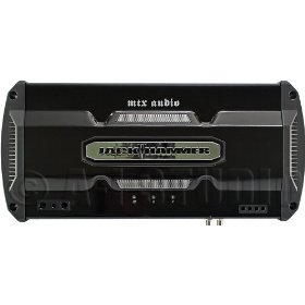 MTX JackHammer JH1200 Mono subwoofer amplifier -- 800 watts RMS x 1 at 2 ohms