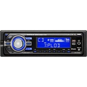 Sony Xplod CDXGT520 GT Series Head Unit